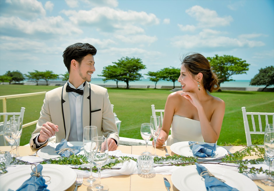Hotel Royal Marine Palace Ishigaki Garden Terrace Wedding Party<br>ホテル・ロイヤル・マリン・パレス石垣島ガーデン・テラス・ウェディングパーティー&披露宴