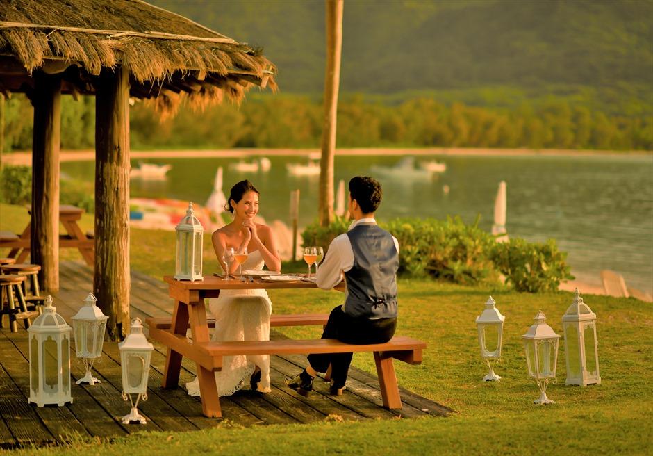 Ishigaki Seaside Hotel Beach Deck Wedding Party<br>石垣シーサイドホテル・ビーチデッキ・ウェディングパーティー&披露宴