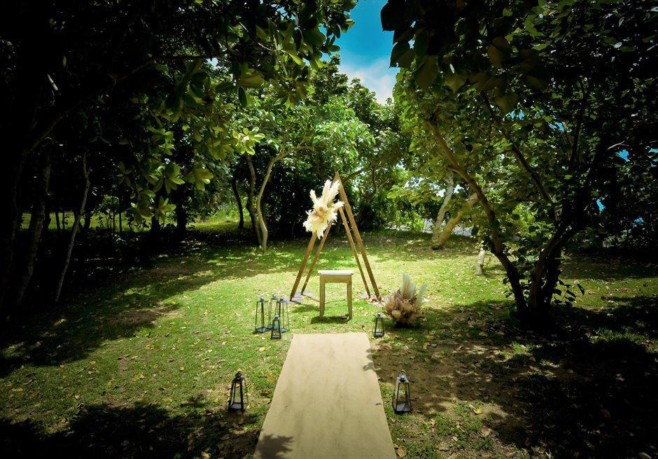 沖縄 石垣リゾートホテル ガーデン・ウェディング・挙式・結婚式