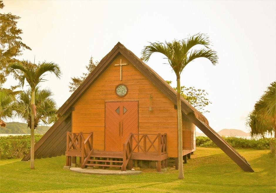 沖縄・石垣島 石垣シーサイドホテル 聖カビラ教会・チャペル・ウェディング・挙式・結婚式