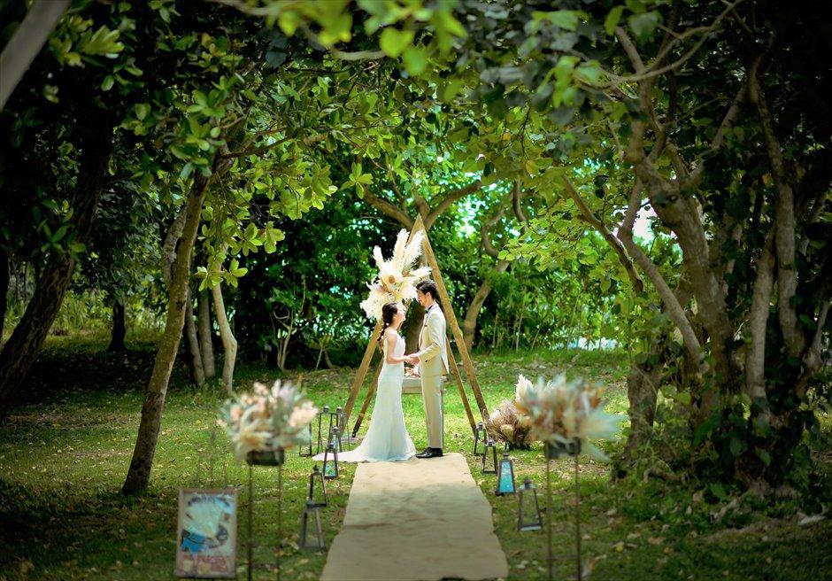 沖縄・石垣島・西表島・竹富島・小浜島 ガーデン・ウェディング・挙式・結婚式