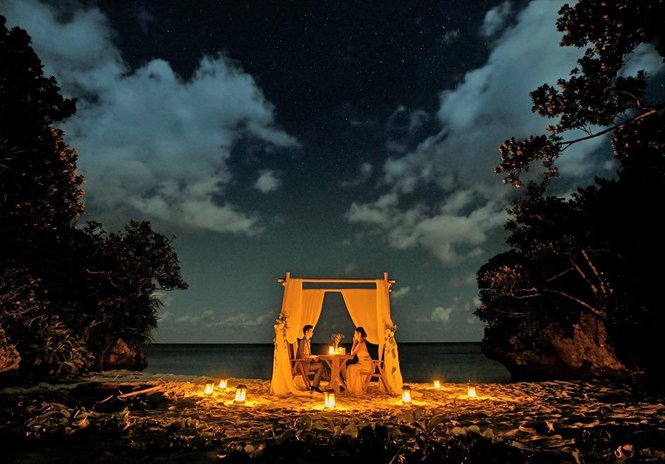 沖縄石垣島ビーチ・ロマンティックディナー/ Ishigaki Island Okinawa Coral Terrace Beach Romantic Dinner/ コーラル・テラス石垣島