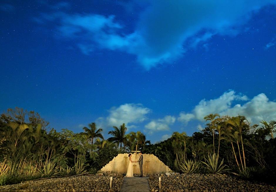 沖縄石垣島ナイト・ウェディング/ Ishigaki Island Okinawa Coral Terrace Night Wedding/ コーラル・テラス石垣島挙式
