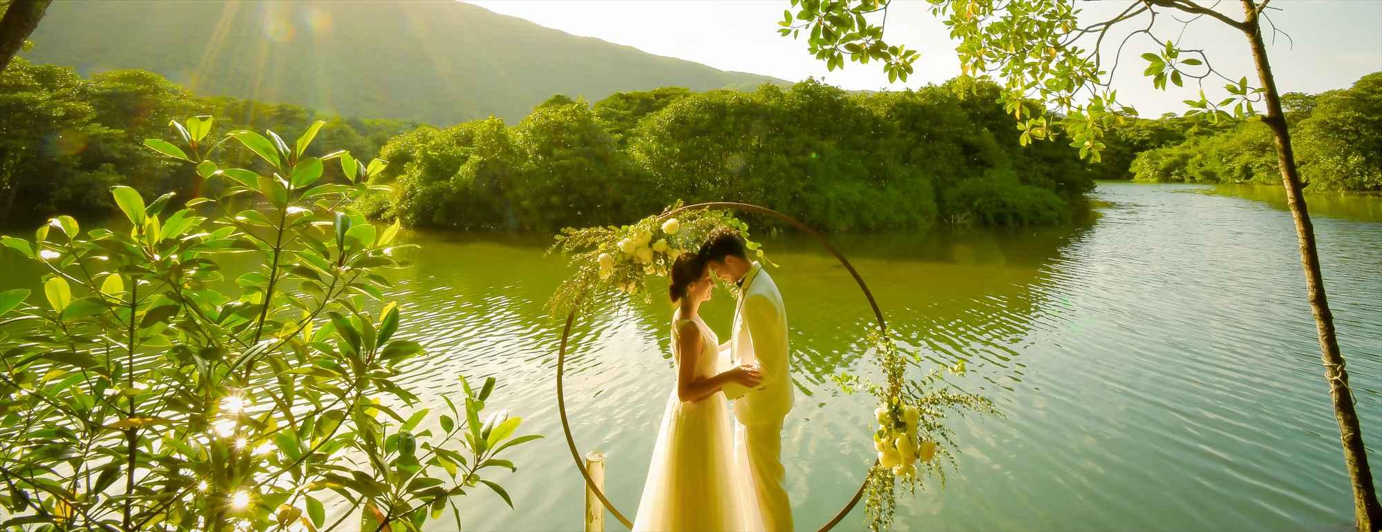 沖縄西表島マングローブ・ウェディング Iriomote Island Okinawa Mangrove Wedding ジャングルホテル パイヌマヤ挙式