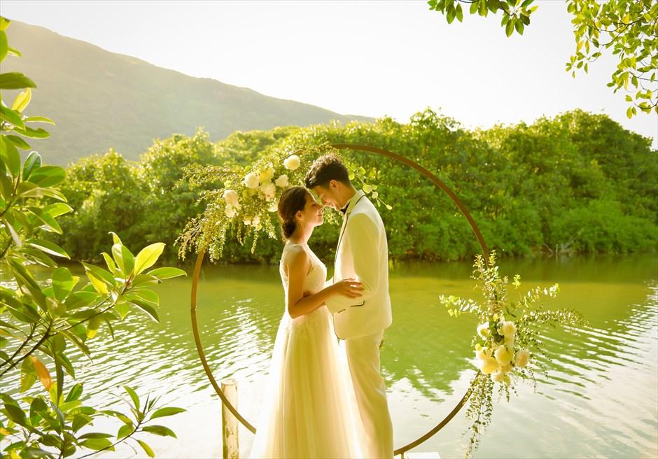 沖縄西表島マングローブ・ウェディング/ Iriomote Island Okinawa Mangrove Wedding/ ジャングルホテル/パイヌマヤ挙式