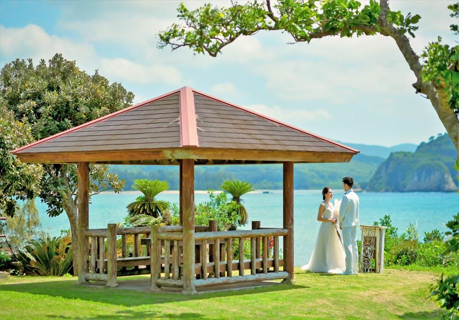 沖縄西表島オーシャン・ウェディング/ Iriomote Island Okinawa Villa Unarizaki Ocean Wedding/ 西表島ヴィラうなりざき挙式