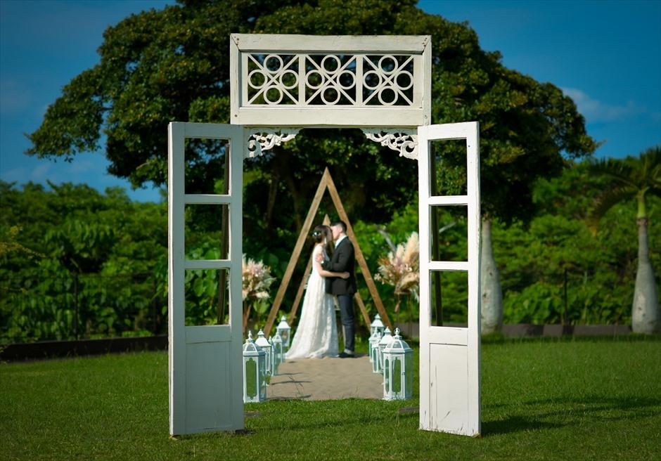沖縄石垣島ガーデン・ウェディング/ Ishigaki Island Okinawa Kaiho Kabira Garden Wedding/ ホテル海邦川平/挙式