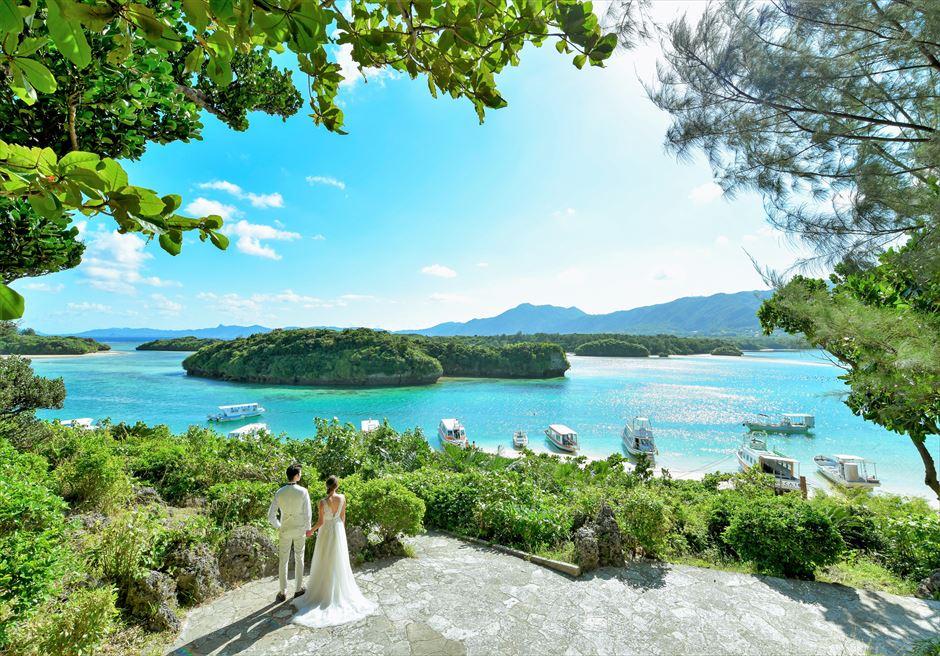 沖縄石垣島フォト・ウェディング/ Ishigaki Island Okinawa Kabira-Bay Photo Wedding/ 石垣島・川平湾/挙式前撮影