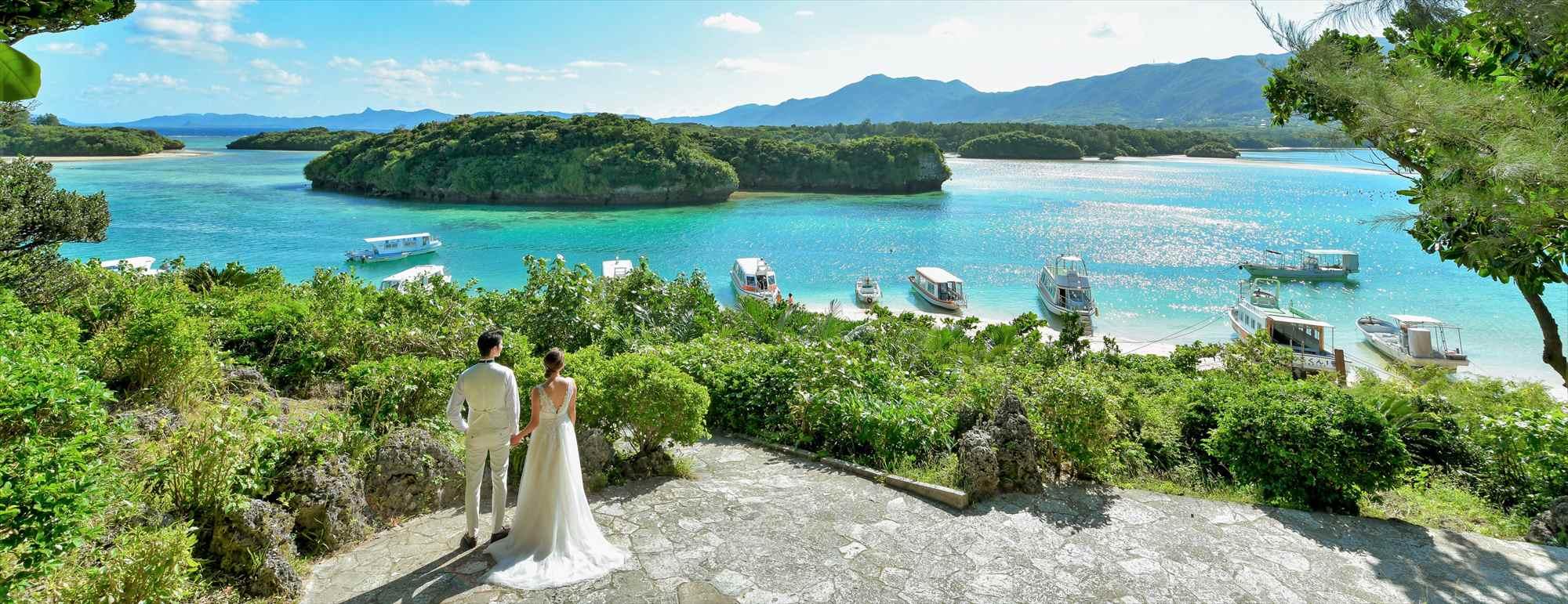 石垣島・大草原 沖縄石垣島フォト・ウェディング Ishigaki Island Okinawa Kabira-Bay Photo Wedding 石垣島・川平湾