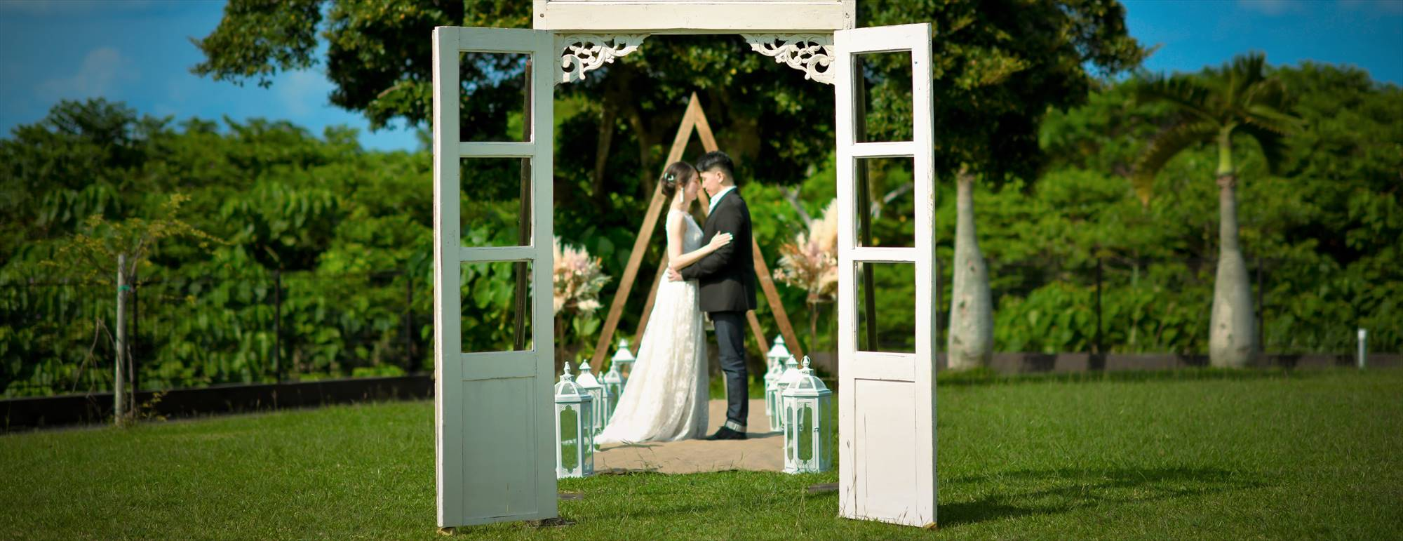 沖縄石垣島ガーデン・ウェディング Ishigaki Island Okinawa Kaiho Kabira Garden Wedding ホテル海邦川平 挙式