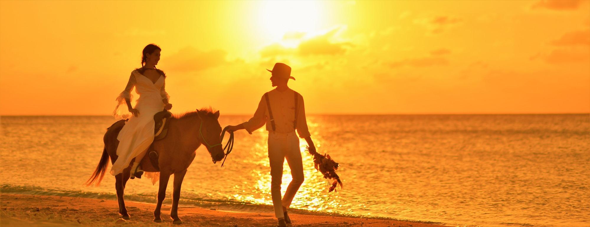 沖縄石垣島フォト・ウェディング Ishigaki Island Okinawa Sunset Beach Photo Wedding サンセット・ビーチ 挙式後撮影