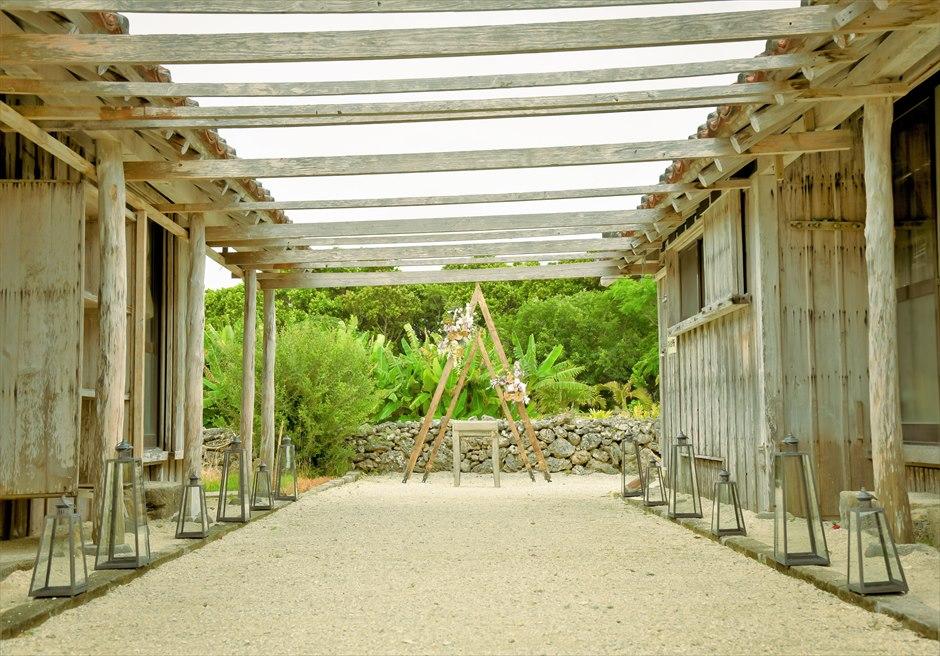 竹富島ウェディング 琉球古民家タカミネ挙式