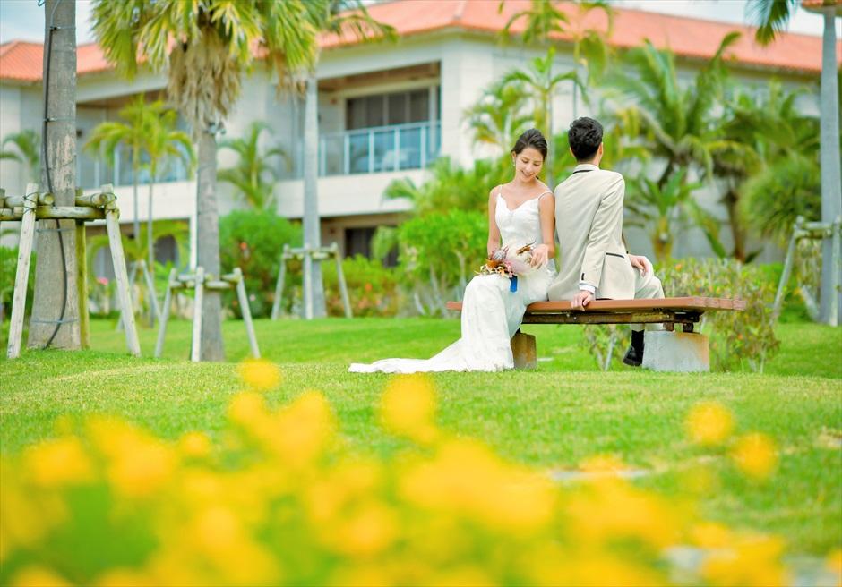 石垣リゾートホテル・フォトウェディングリゾート前ガーデン