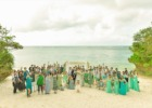 コーラル・テラス石垣島沖縄・披露宴│ウェディングパーティー・オプション│シークレットビーチ・集合写真