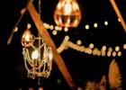 コーラル・テラス石垣島沖縄・披露宴│ウェディングパーティー・オプション│屋外照明シャンデリア