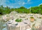 コーラル・テラス石垣島・沖縄結婚式│テラス・ウェディグ・パーティー│ラウンド・テーブル装飾