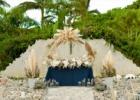 コーラル・テラス石垣島・沖縄結婚式 テラス・ウェディング・パーティー コーラル・チャペル高砂装飾