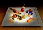 コーラル・テラス石垣島・沖縄披露宴│ウェディング・ディナー・5コースメニュー│アペタイザー:沖縄の食材を利用した前菜