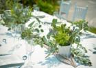 海邦フサキ・ウェディングパーティー&披露宴 テーブル装飾一例
