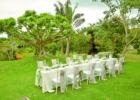 ハーブ・ガーデン・パナ ガーデン・ウェディング・パーティー&披露宴 挙式会場装飾一例