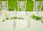 ハーブ・ガーデン・パナ ガーデン・ウェディング・パーティー&披露宴 テーブル装飾一例