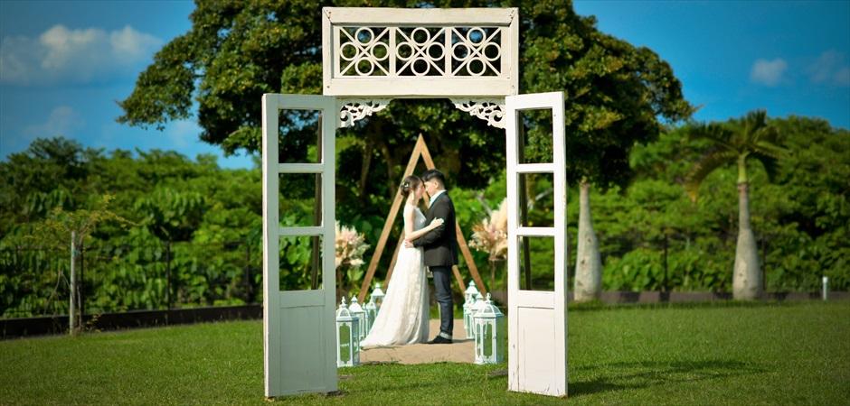 Heaven's Garden Wedding