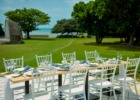 ホテル・ロイヤル・マリン・パレス石垣島 レストラン・テラス・ウェディングパーティー&披露宴 会場装飾一例