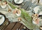 西表島ジャングル・ホテル・パイヌマヤ ブリッジ・デッキ・ウェディングパーティー&披露宴会場テーブル一例