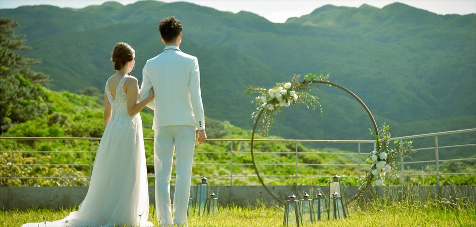 Rooftop Scenic Garden Wedding