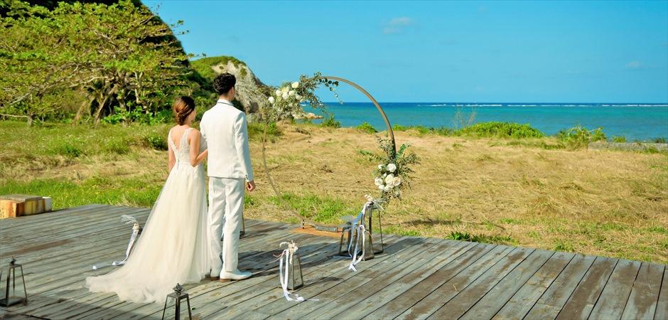 Beachfront Deck Wedding