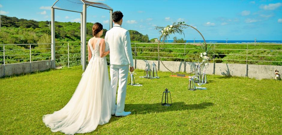 Rooftop Oceanview Garden Wedding