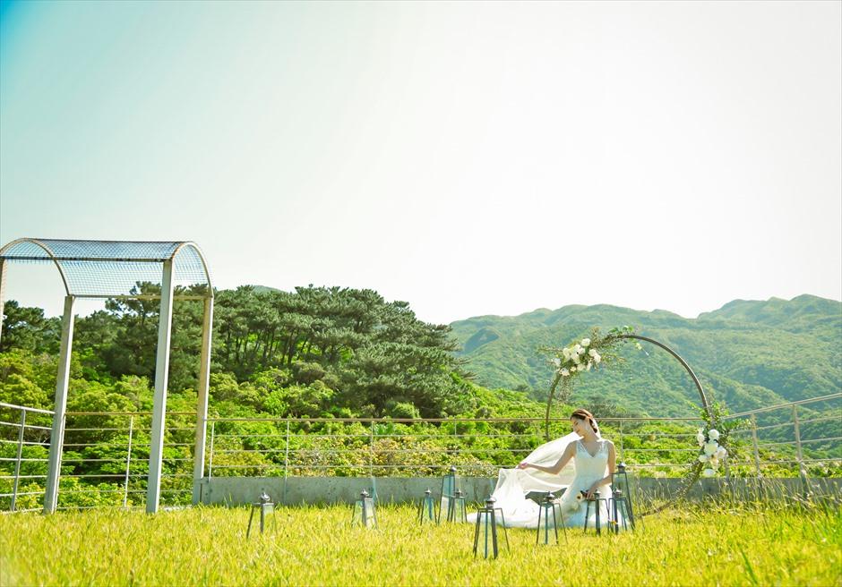 沖縄西表島挙式・ガーデン・ウェディング ジャングル・ホテル・パイヌマヤ結婚式 挙式後撮影