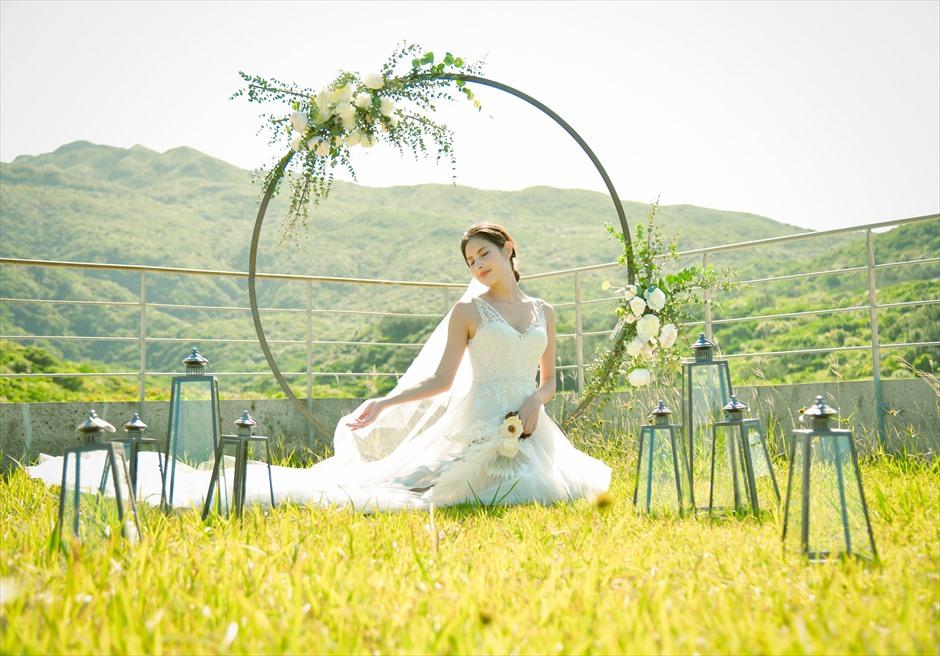 沖縄西表島挙式・ガーデン・ウェディング ジャングル・ホテル・パイヌマヤ結婚式 ルーフトップ・フォトウェディング