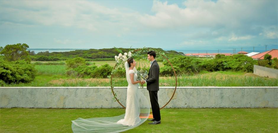 Oceanview Garden Wedding