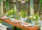 石垣白保ノスタルジーガーデンガーデン・パーティー・テーブル装飾一例