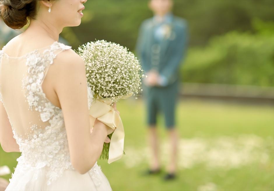 ホテル海邦川平・石垣島沖縄・結婚式│ツリー・ガーデン・ウェディング│各種生花のブーケ&ブートニア承ります