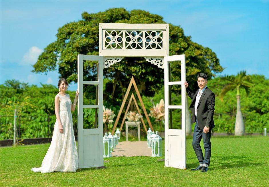 ホテル海邦川平・石垣島沖縄結婚式 ヘブンズ・ドア・ガーデン・ウェディング ヘブンズドア・ガーデン・フォト
