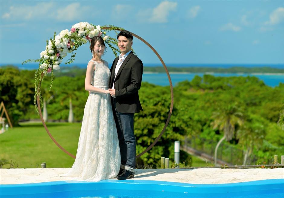 ホテル海邦川平石垣島・沖縄結婚式│インフィニティ・ウェディング│空と海とガーデンと一体化する挙式
