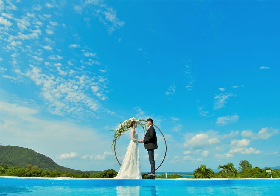ホテル海邦川平石垣島・沖縄結婚式│インフィニティ・ウェディング│2人挙式にも適した挙式プラン