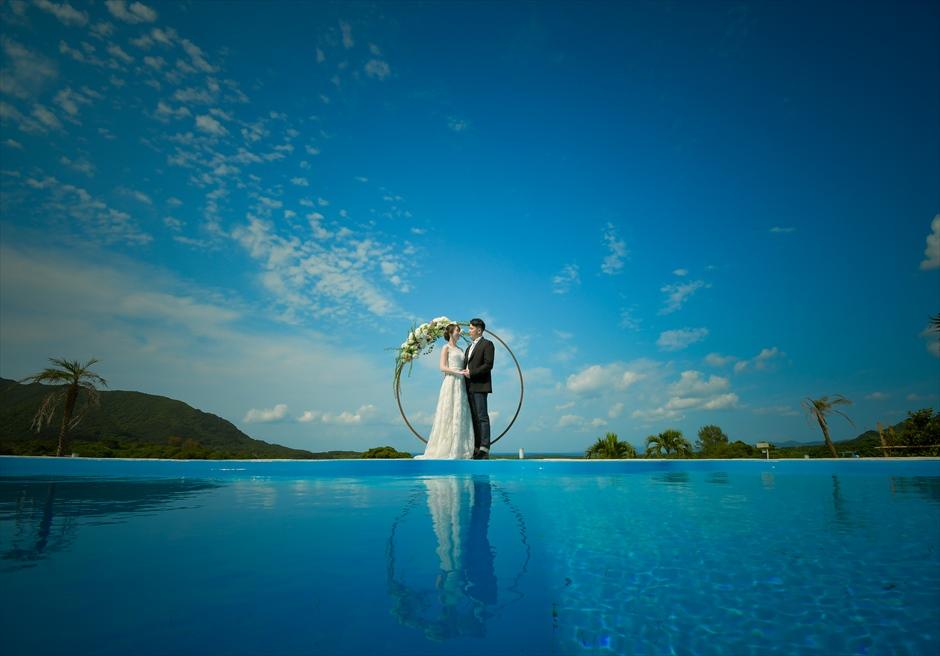 ホテル海邦川平石垣島・沖縄結婚式│インフィニティ・ウェディング│幻想的な挙式スタイル