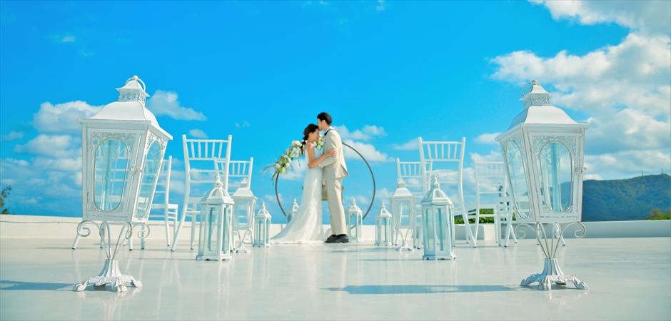 Villa Rooftop Oceanfront Wedding