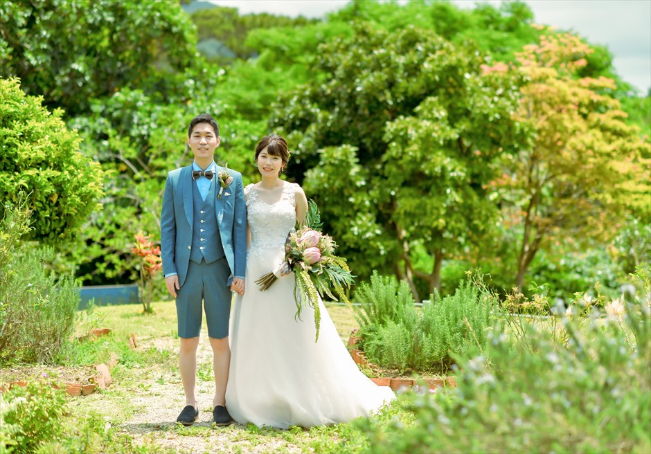 ハーブ・ガーデンPANA石垣島・沖縄ガーデン挙式前撮影