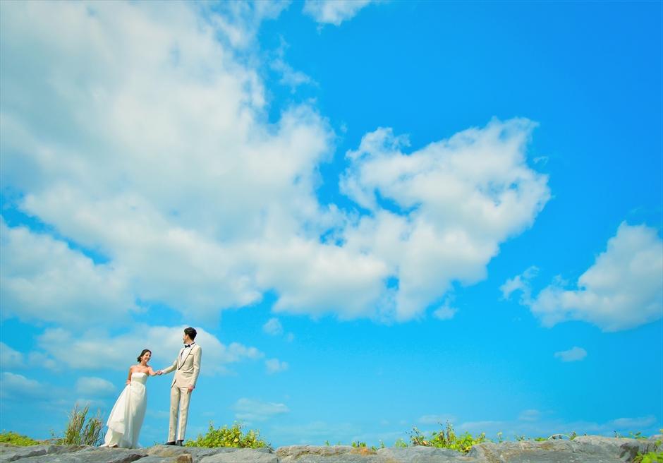 ホテル・ロイヤル・マリン・パレス石垣島空と一体化するフォトウェディング