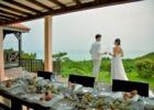 シーフォレスト石垣島レストラン 絶景を望む乾杯シーン