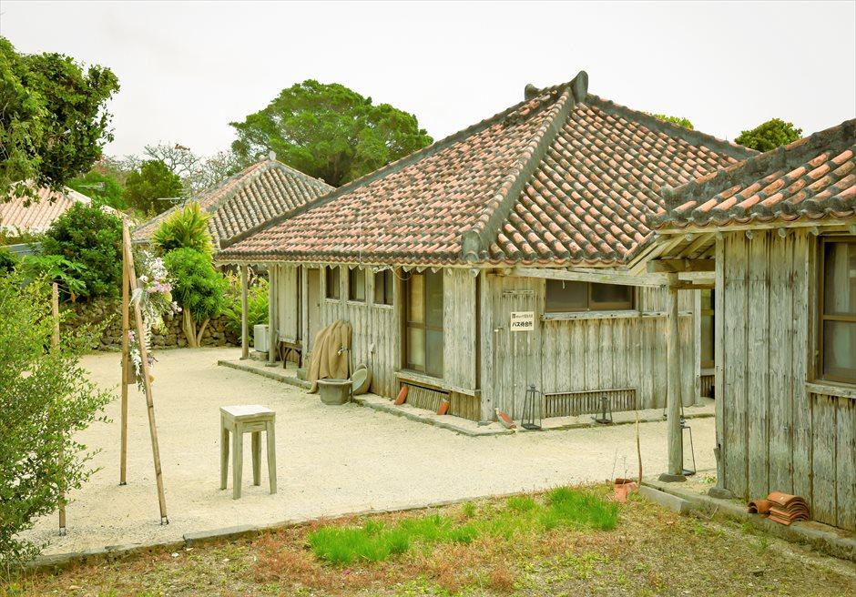 竹富島・沖縄琉球古民家結婚式 タカミネ・ヴィラ・ウェディング 古民家全景