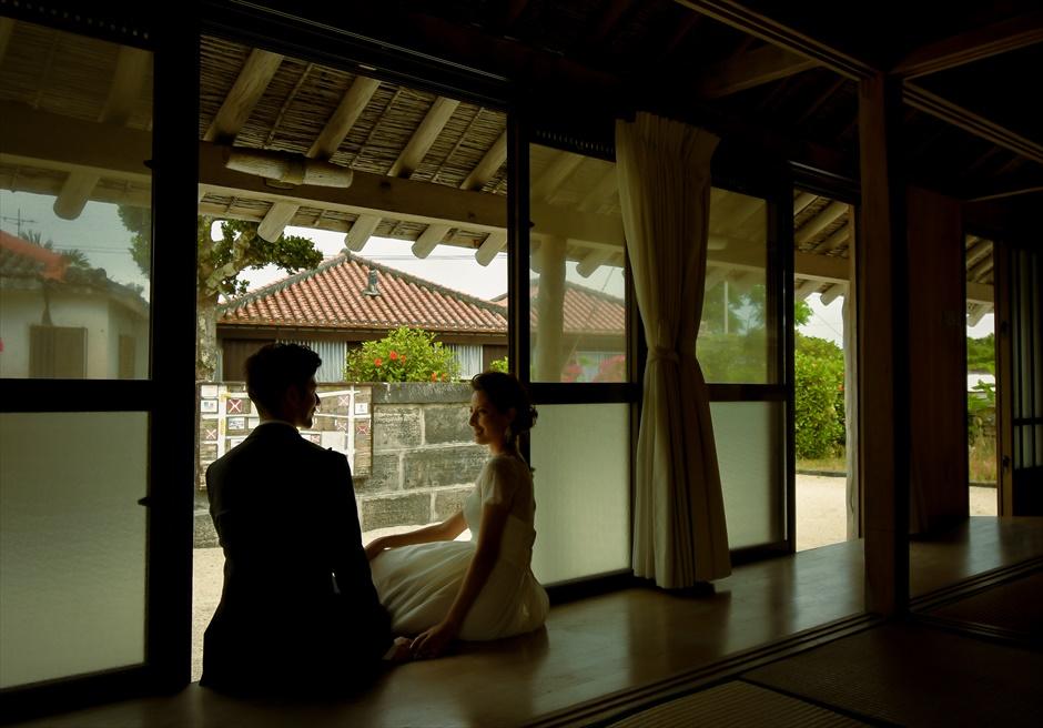 沖縄竹富島フォト・ウェディング琉球古民家タカミネ竹富島