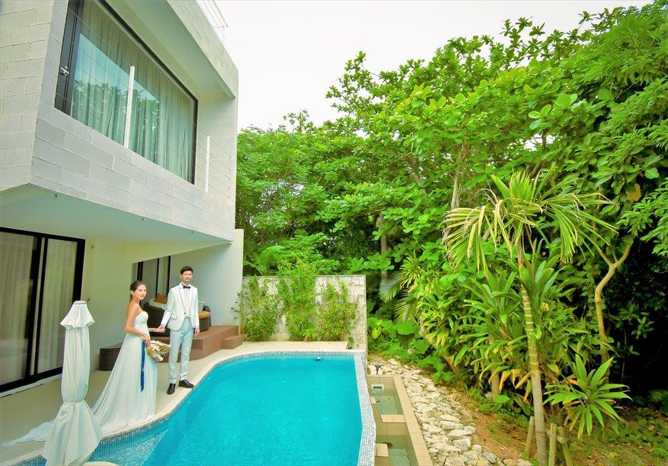 ザ・セブン・スターズ・リゾート石垣ジャングルに囲まれたヴィラ