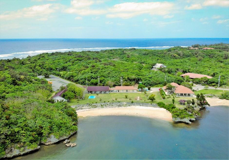 沖縄西表島結婚式ヴィラうなりざき オーシャンフロント・ガーデンウェディング 西表島ならではのブライダル・シーン