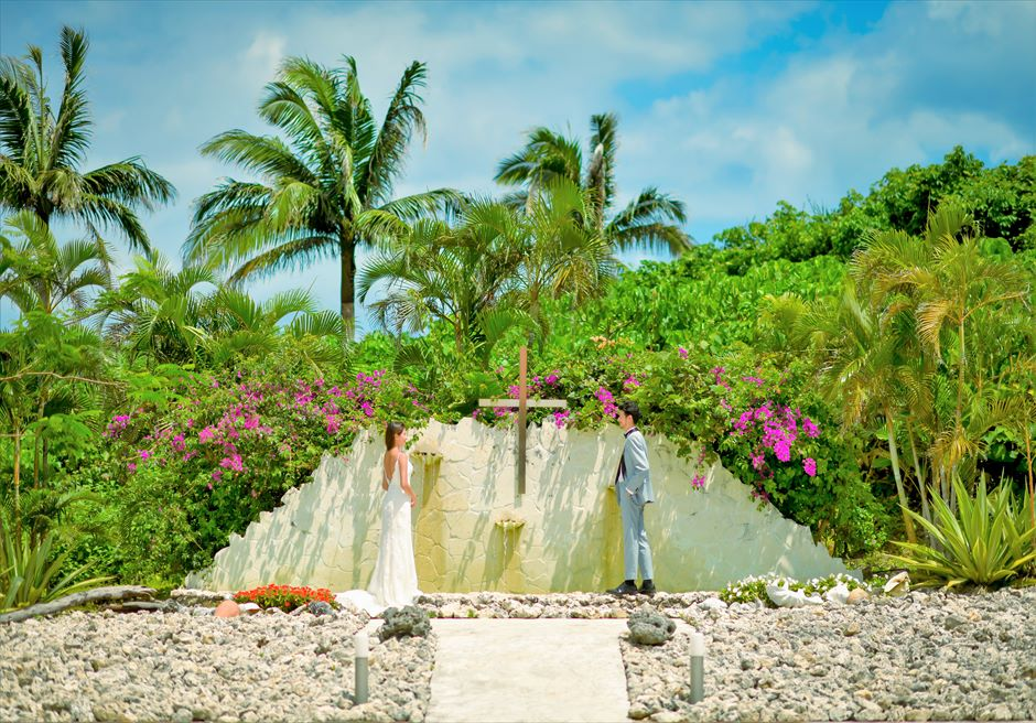 セレモニーフォト・コーラルチャペル│沖縄石垣コーラル・テラス挙式・結婚式