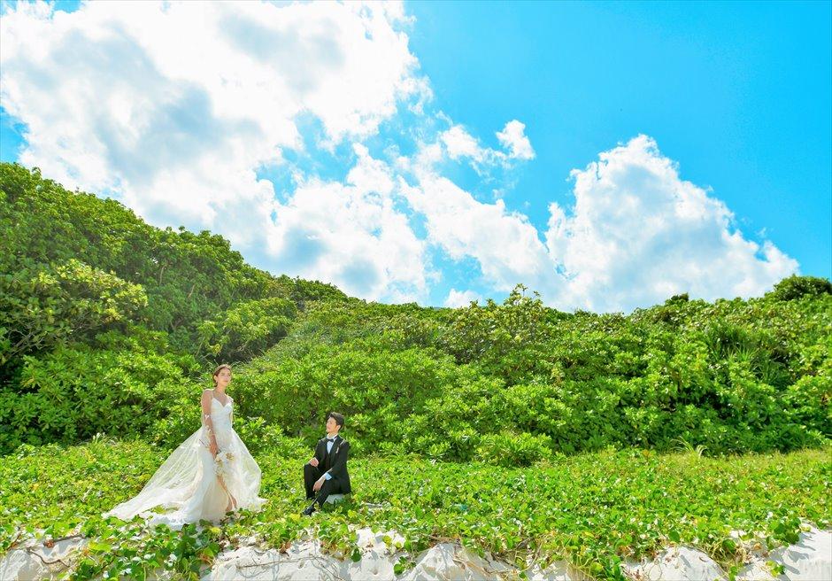 ビーチガーデン・フォトウェディング│沖縄石垣コーラル・テラス挙式・結婚式